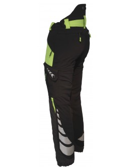 AT4020 Breatheflex Type A Class 2 Trousers - Lime/Black