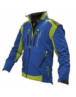 Breatheflex Pro Work Jacket - Blue (with removable sleeves)