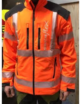 Breatheflex Jacket Hi-Vis Orange